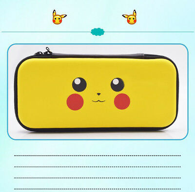 Nintendo Switch Carrying Case Pikachu Pokemon Fit for Console Cards Protection