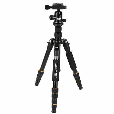 ZOMEI Q666 Portable Aluminium Tripod Ball Head Travel Set for Canon DSLR Camera