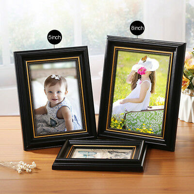 Photo Frame Picture Frames 5/8inch/A4 Vintage Colored Square Wall Table Decor AU