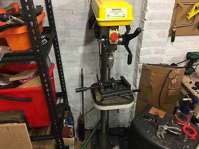Pillar Drill Press Chester D20 650watt Floor Standing