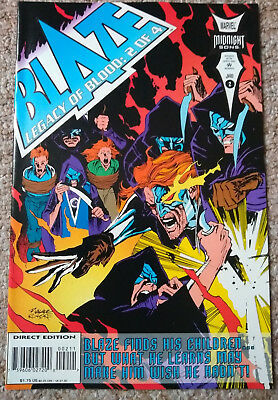 BLAZE: LEGACY OF BLOOD # 2 (1993) Marvel Comics (NM Condition)