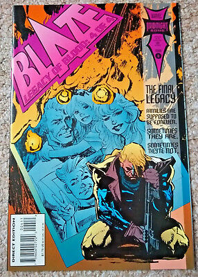 BLAZE: LEGACY OF BLOOD # 4 (1993) Marvel Comics (NM Condition)