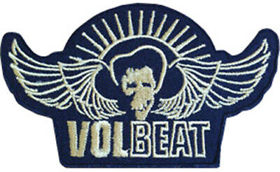Volbeat Outlaw Raven Motif Standard Square Sew On Patch Band Rock