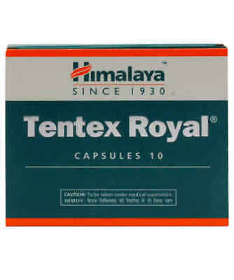 Himalaya Herbal Natural Ayurvedic Tentex Royal 100 Capsule