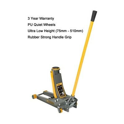 2 Tonne WINNTEC Trolley Jack Low Entry 3 Year Warranty Included 09821
