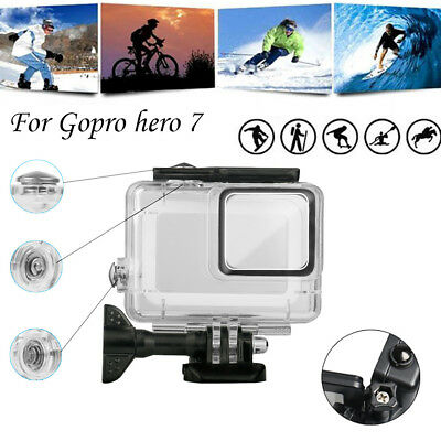 For GoPro Hero7 Waterproof Case Diving Protective Housing Shell Under Water 45m