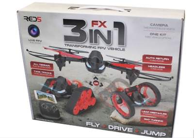 Fx 3 In 1 - Transforming Vehicle With Video Camera
