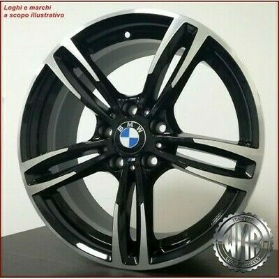 F942 BD 4 ALLOY WHEELS M4 mod 17 ET34 X BMW SERIES 2 F22 COUPE 2014 SPORT