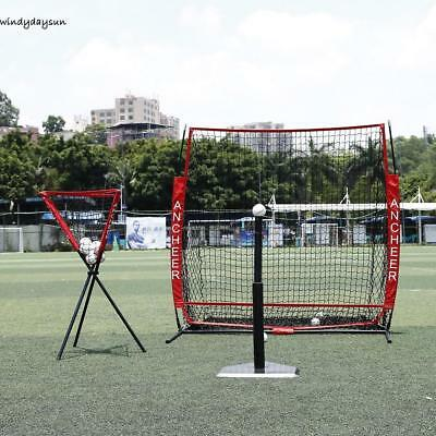 55 x 55cm Baseball Net Softball Practice Ball Net Tragbar für Tee-Ball-Training