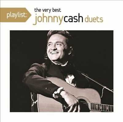 Johnny Cash: Playlist: The Very Best Duets NEW CD