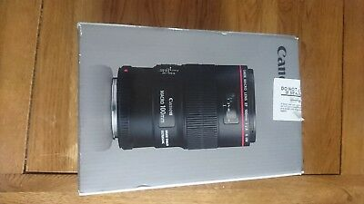 Canon EF 100mm f/2.8L Macro IS USM Lens - BRAND NEW IN BOX