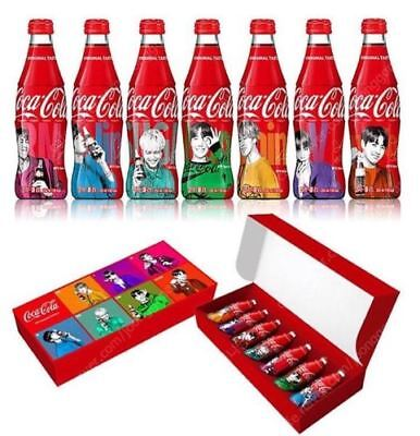 BTS BangTanBoys Coca Cola Contour Bottle Limited Box New and Full Condition Rare