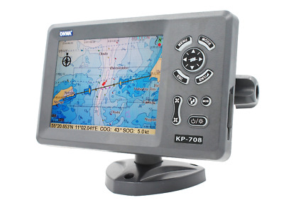 Traceur ChartPlotter 07' Anti-Collision GPS/AIS - cartographie inclue