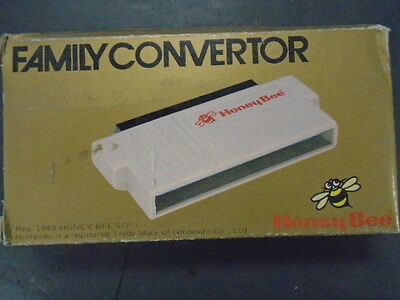RARE New!  Honeybee Converter - Famicom games on your NES! 60 pin to 72 pin
