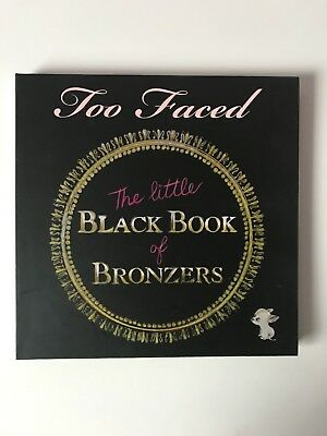 TOO FACED The Little Black Book Of Bronzers édition limitée