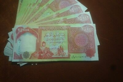 IQD Iraqi Dinar $25k Notes. Free Shipping with tracking.