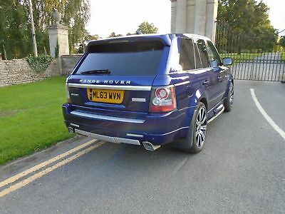 land rover range rover sport  upgraded to 2013/63 plate  rare bali blue p/x why