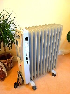 Bionaire Electric 2.5kw Portable Large Oil Filled Radiator Home Office Heater