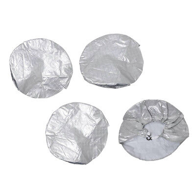 SUV TRUCK TRAILER WHEEL CAMPER RV SPARE TIRE COVER (PACK of 4)