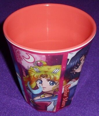 1x Sailor Moon Crystal Melamin Cup Becher Bandai Soldiers Team Inners