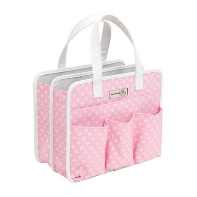 Tag Along Tote Pink Star 30 x 15 x 25cm  Everything Mary EVM11098-4