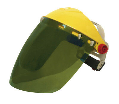 Green Full Face Screen 8 X 12 COMPLETE - Shade 3 for Gas cutting - NOT WELDING