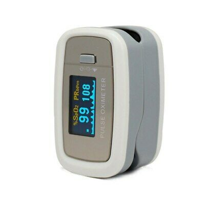 Brand NEW Finger Pulse Oximeter - Silver