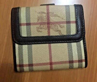 bfc673f841 Portafogli Burberry Donna Made in Italy Burberrys Wallet Borsellino Vintage