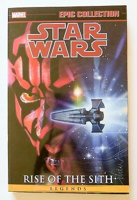 Star Wars Rise of the Sith Vol 2 Marvel Epic Collection Graphic Novel Comic Book