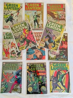 Showcase 24 and ten other silver age Green Lantern comics lot