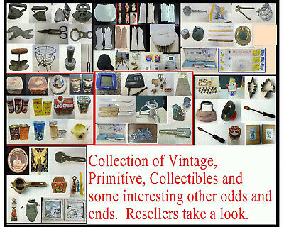 Collection Of Primitive, Antique, Collectibles And More