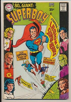 Superboy #147 DC Comics 1968 1st Origin Legion of Super-Heroes