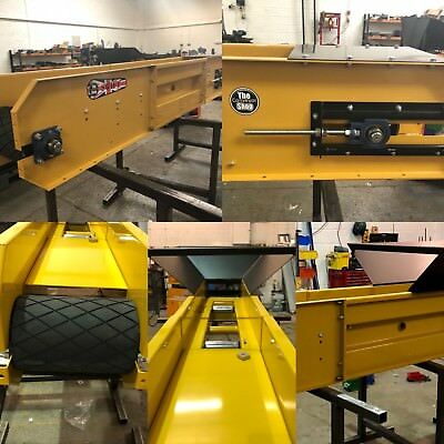 Conveyor belt system 800mm wide x 14 meters brand new heavy duty conveyor :)