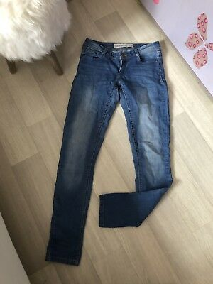 JEANS ♥ GUESS ♥ taille W27 36   38 Foxy Skinny taille basse gris ... e5e2f073301