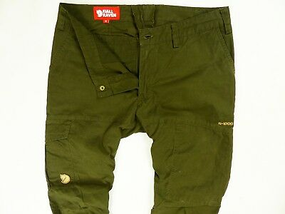 Womens Fjallraven G-1000 Karla Trousers Cargo Pants Camping Hiking Size:36