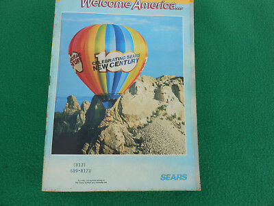 Vintage Sears Spring Summer 1986, Centennial Edition Catalog
