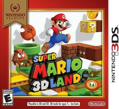 Super Mario 3d Land - Nintendo Selects Edition (Game Misc Used Very Good)