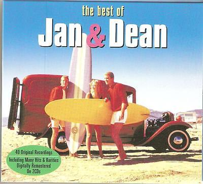The Best Of Jan & Dean - 2 Cd Box Set - Heart And Soul * Gee & More