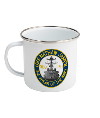26b88703ba4 USS Nathan James DDG-151 Enamel Mug Inspired by The Last Ship 1 ...
