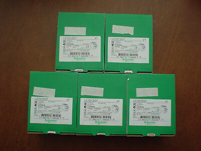 Lot of 5 Schneider Electric LC1D12G7 Contactors