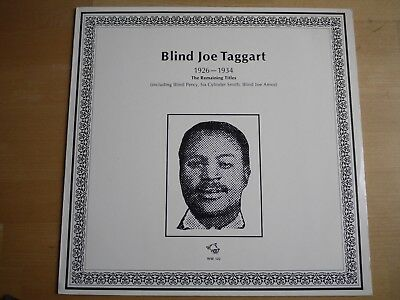 Blind Joe Taggart 1926-1934 The Remaining Titles  Wolf Records