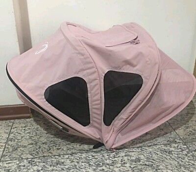 Bugaboo bee plus, bee 3 & 5 soft pink extantdable breezy hood  sun canopy
