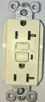 Legrand Pass Seymour 2095LA Self Testing 20A LIGHT ALMOND GFCI FREE SHIPPING