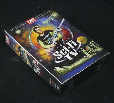 Classic Sci-Fi TV Classics 12-Disc 2009 DVD Set 150 Episodes New, Factory Sealed