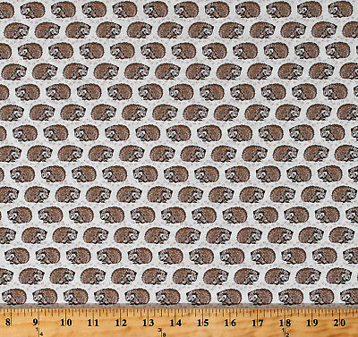 Northcott Woodland Pitter Patter by Nina Djoric 22570 12 Raccoons Cotton