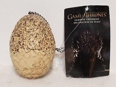 Kurt S. Adler Hbo Game Of Thrones Dragon Egg Ornament New 3 1/2""