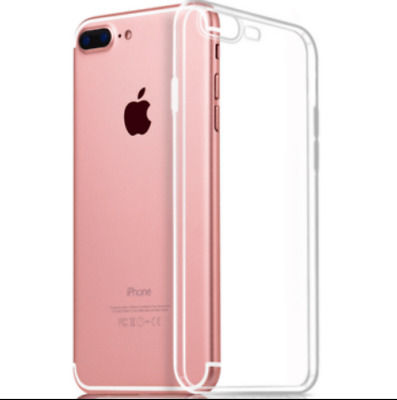 For iPhone 7 Plus Case Shock Proof Crystal Clear Soft Silicone Gel Cover Slim