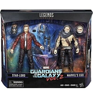Marvel Legends Series Guardians Of The Galaxy 2 Star-Lord & Marvel's Ego 2 Pack