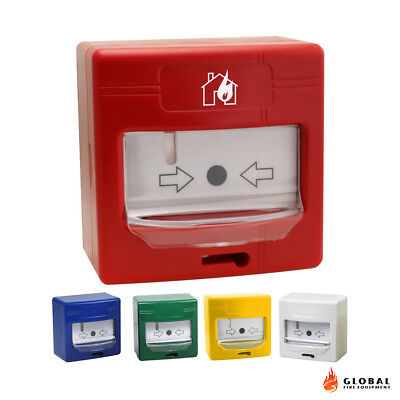 ALL COLOURS Global Fire Equipment GFE Conventional Manual Call Point Fire Alarm