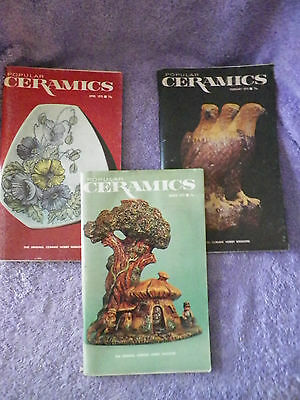 1975 Popular Ceramics Magazines - 3 Different - A Must Have for the Ceramist